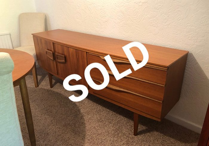 Sold wooden cabinet